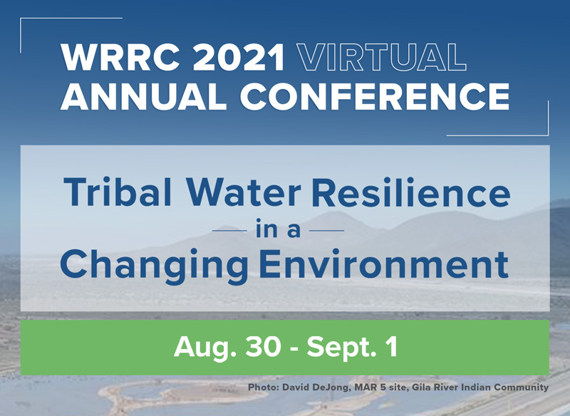WRRC 2021 Virtual Conference Banner