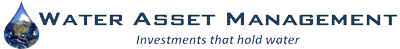 Water asset management logo