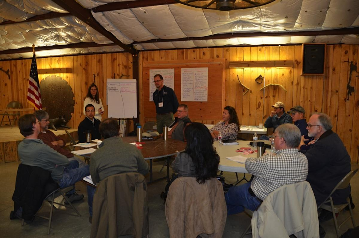 Upper Gila River stakeholders meet to discuss ongoing research in the watershed.