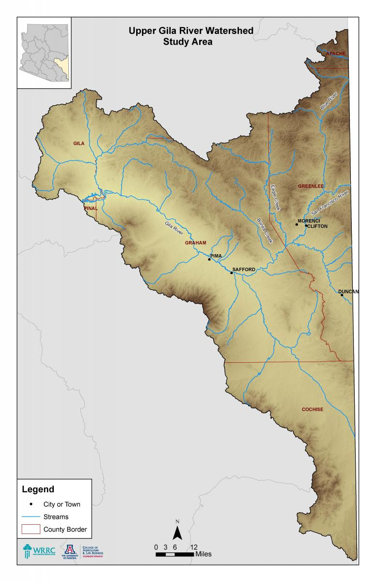 upper trinity river watershed - HD776×1200