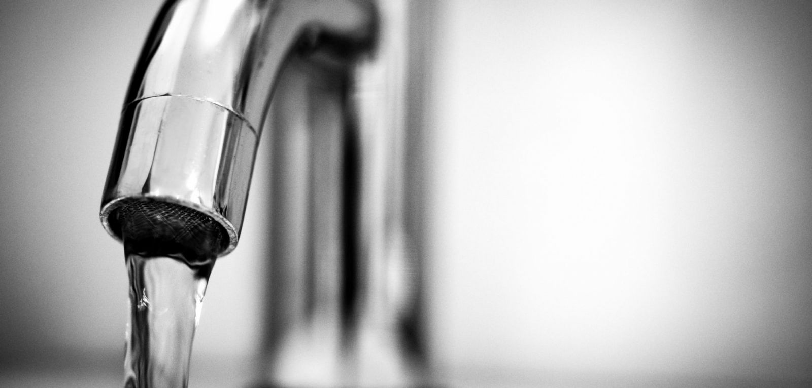 black and white water tap