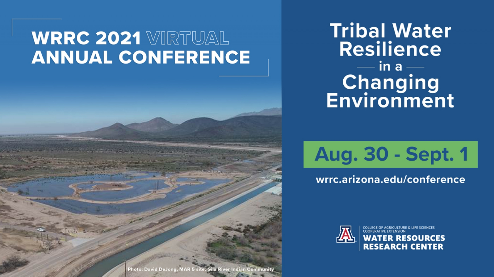 WRRC 2021 Virtual Annual Conference Banner