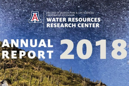 annual report banner with date and logo