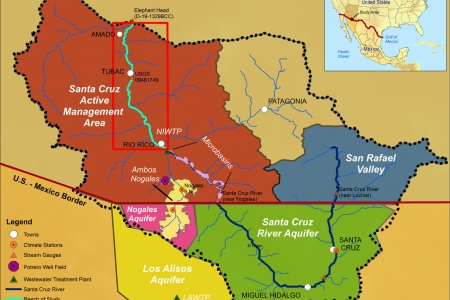 Impacts of Variable Climate and Effluent Flows on the Transboundary Santa Cruz Aquifer