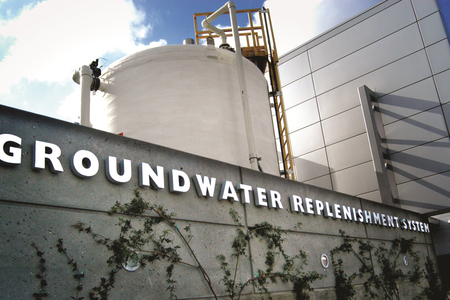 groundwater replenishment system exterior