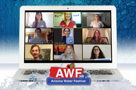 AZ Project Wet staff on web call