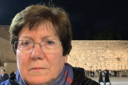 A photo depicting Sharon Megdal in Jerusalem